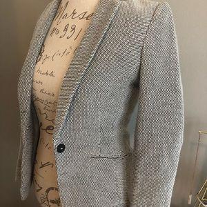 H&M grey/white blazer